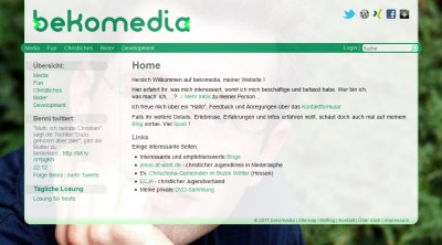 bekomedia Version 2011 - HTML5